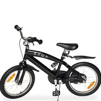 STOY Speed, Cykel, 16 tommer, Sort Black
