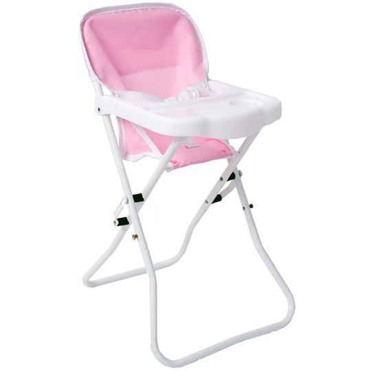 STOY Dolls High Chair Pink