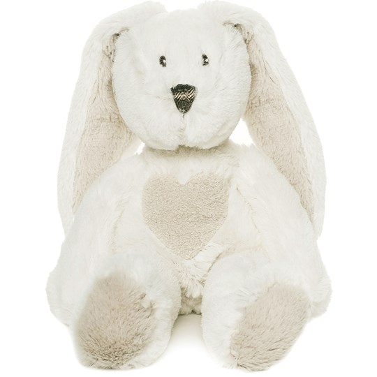 Teddykompaniet Teddy Cream Rabbit White Multi