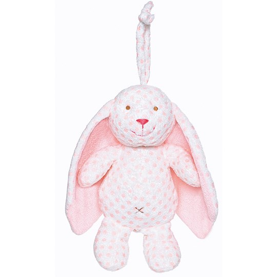 Teddykompaniet Big Ears Rabbit Music Mobile Pink