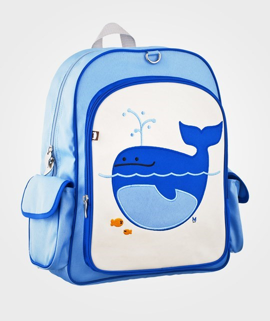 Beatrix NY Big Kid Back Pack Lucas Whale Blue