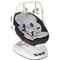 Graco Babygunga, Move With Me, Bretton Stripe, Vit/Grå Black