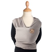Babylonia Tricot-Slen Organic Carrier Taupe Black
