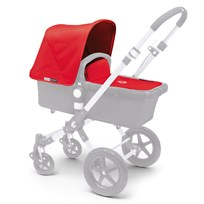 Bugaboo Cameleon Tailored Fabric Set Rød