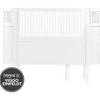 sebra Sebra Bed Baby/Junior White White