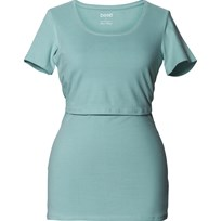 Boob Amningstopp, Classic Top, Short Sleeve, Nile blue Blue