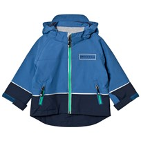 Geggamoja All Weather Jacket Blue Blue