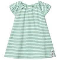 Geggamoja Singoalla 2-in-One Dress Green/White Green
