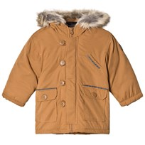 Absorba Tan Padded Hooded Coat 620