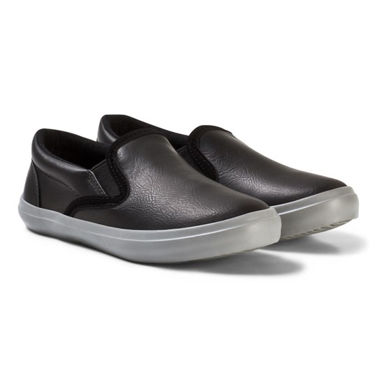 United Colors of Benetton Slip On Runners Sneakers Svart Black