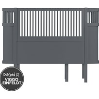 sebra Sebra Bed Baby/Junior Grey Black