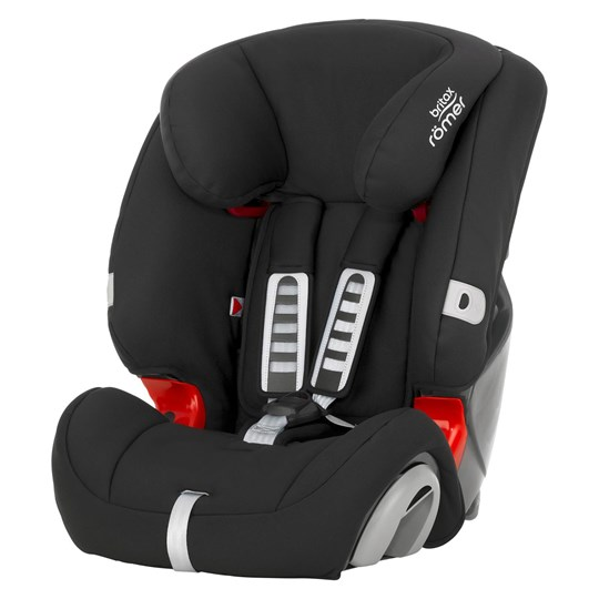 britax r mer bilbarnstol evolva 123 plus cosmos black britax babyshop. Black Bedroom Furniture Sets. Home Design Ideas