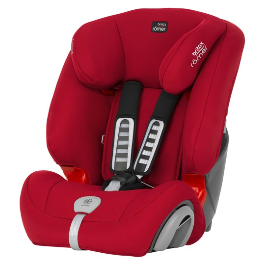 Britax Evolva 1-2-3 SL SICT Flame Red Red