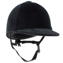 Champion Junior CPX-3000 Velvet Riding Hat Black