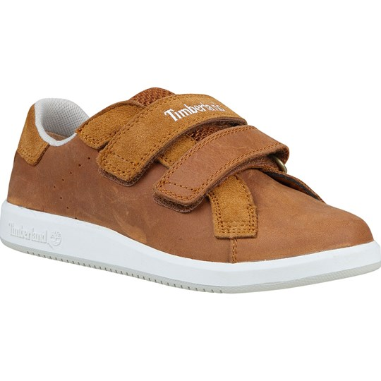 Timberland Sneakers, Courtside Hook-and-Loop Oxford, Toddler BROWN