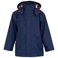 Hatley Classic Raincoat with Dip Hem Navy