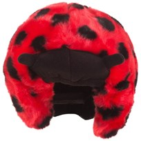 Headztrong Ladybird Helmet Cover Red
