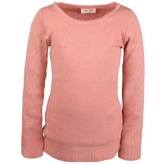 Noa Noa Miniature T-Shirt, Long Sleeve, Rosebud Pink