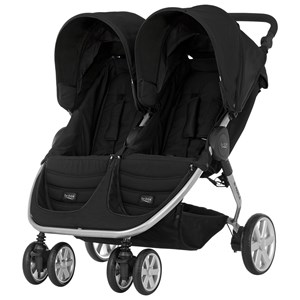 Image of Britax B-Agile Double Stroller Cosmos Black (3057832405)