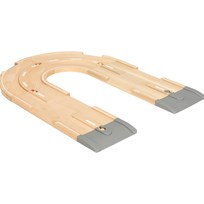 BRIO Träjärnväg, Road Expension Pack Beige