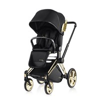 Cybex Cybex Priam Lux Seat by Jeremy Scott 2017 Black
