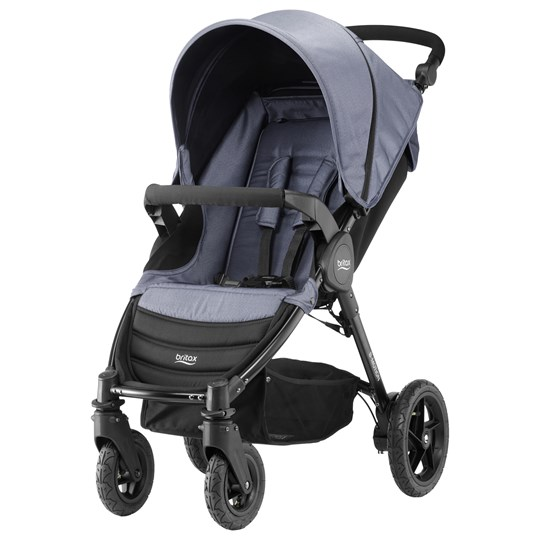 Britax B-Motion 4 Stroller Blue Denim Blue