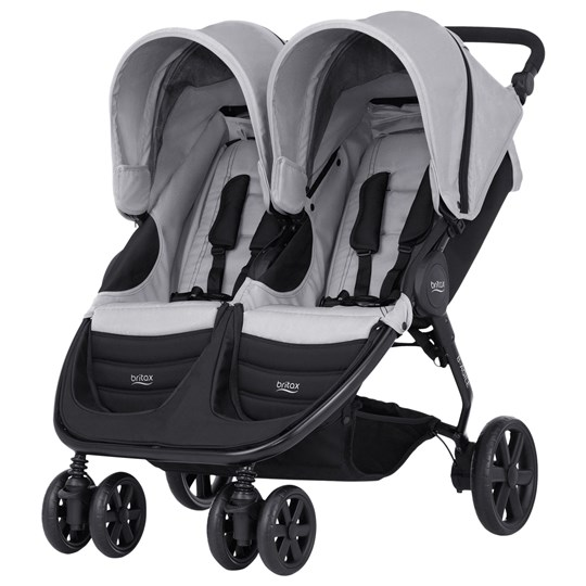Britax B-Agile Double Stroller Steel Grey Black