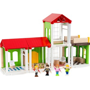 Image of BRIO BRIO® My Home Town – 33941 Village Family House 3 - 7 år (2839688595)