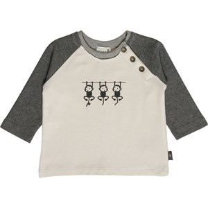 Image of Hust&Claire Grey Monkey Tee 68 cm (2839687527)