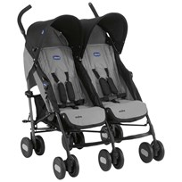 Chicco Chicco Echo Twin Stroller Grey Sort