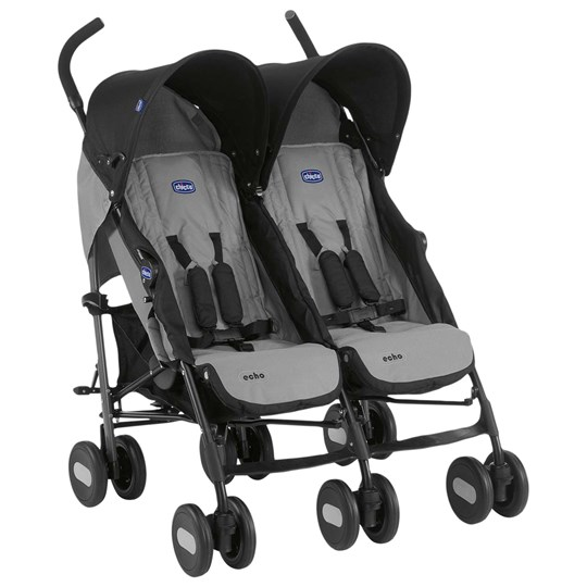 Chicco Chicco Echo Twin Stroller Grey Grey