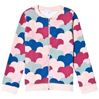 Livly Zip Up Sweatshirt Cloud Print Cloud Print Allover