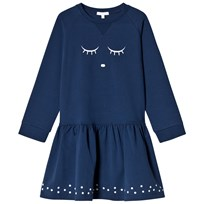 Livly Sweatshirt Dress Sleeping Cutie/navy Sleeping Cutie/navy