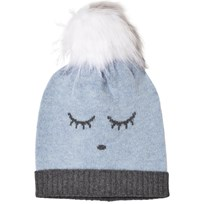 Livly Cashmere Hat Blue/Sleeping Cutie Blue/ Sleeping Cutie