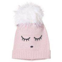 Livly Cashmere Hat Pink Rose/sleeping Cutie Pink Rose/sleeping Cutie