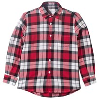 Il Gufo Red Tartan Check Shirt 372