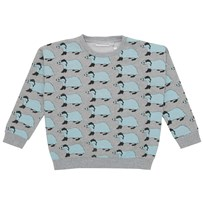 Gardner and the gang Sweatshirt, Betty The Badger, Grey Black