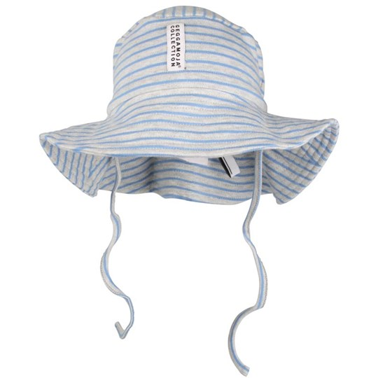 Geggamoja Sunnyhat Grey/Light Blue Black