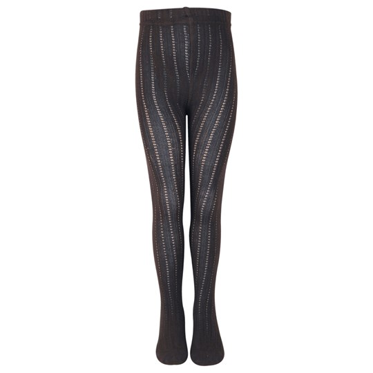 Melton Classic Tights W/Bamboo Millie Graphite Greyish Grey