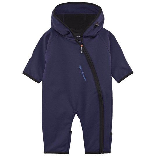 Isbjörn Of Sweden Wind & Rain Baby One-Piece Dark Navy Dark Navy