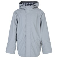 Kickle Grey Hooded Raincoat