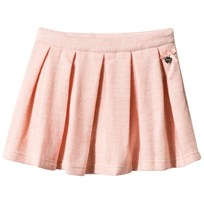 Le Chic Pink Brushed Jersey Glitter Skirt 212