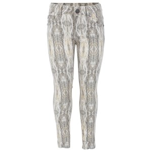 Image of SuperTrash Grey and Cream Stretch Pants 104 (4 years) (2995680503)