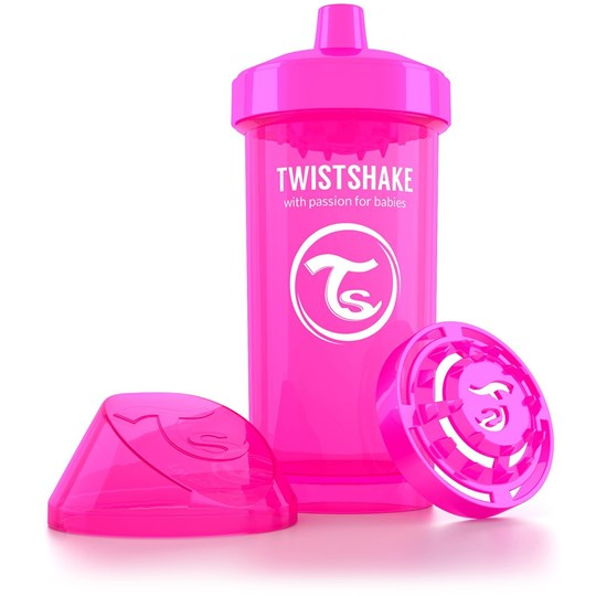 Twistshake Kid Cup 360 ml/12 oz (12+ m) Pink Pink