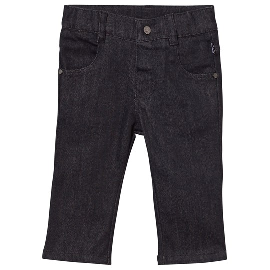 Karl Lagerfeld Kids Denim Byxor Svarta Denim Black