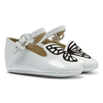 Sophia Webster Mini Bibi Baby Butterfly Shoes White