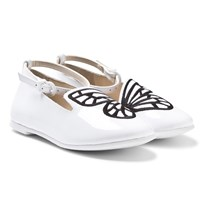 Sophia Webster Mini Bibi Mini Butterfly Shoes White