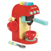 Le Toy Van Toy Coffee Machine Punainen
