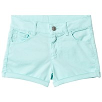 United Colors of Benetton Bomulls Shorts Aqua Blue Aqua Blue