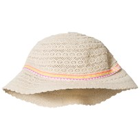 United Colors of Benetton Frilly Sun Hat White